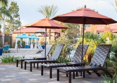 Resort Umbrella at Corona Pointe