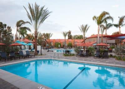Sparkling Pool at Corona Pointe Resort