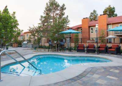 Relaxing Pool at Corona Pointe Resort