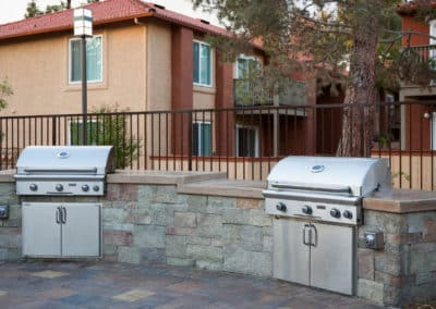 Two Bbq Grill Station