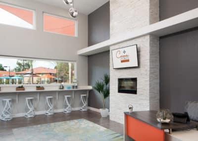 Resident Lounge at Corona Pointe Resort