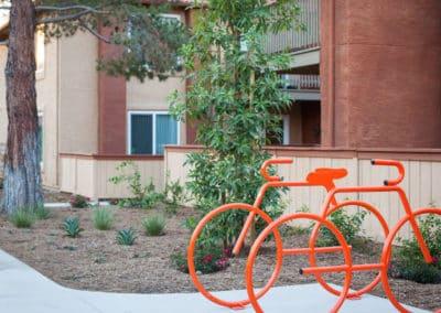 Bike Parking at Corona Pointe Resort